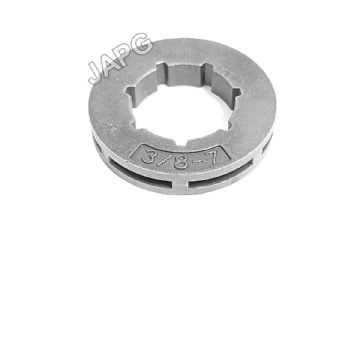 "Chainsaw Sprocket Rim, 3/8"" x 7 Tooth, Small 7 Spline, SM7, Oregon 18720, Carlton SRA27, GB GBA7S7"